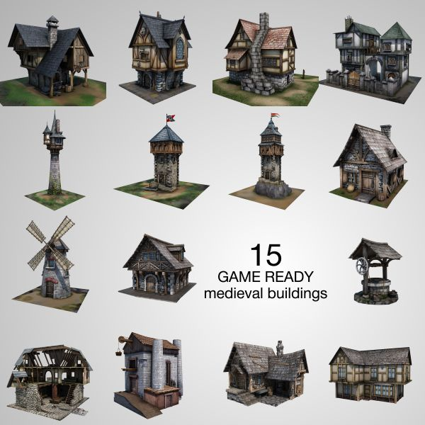 16 best images about 3d models house cgduck on pinterest for 3d house building games online