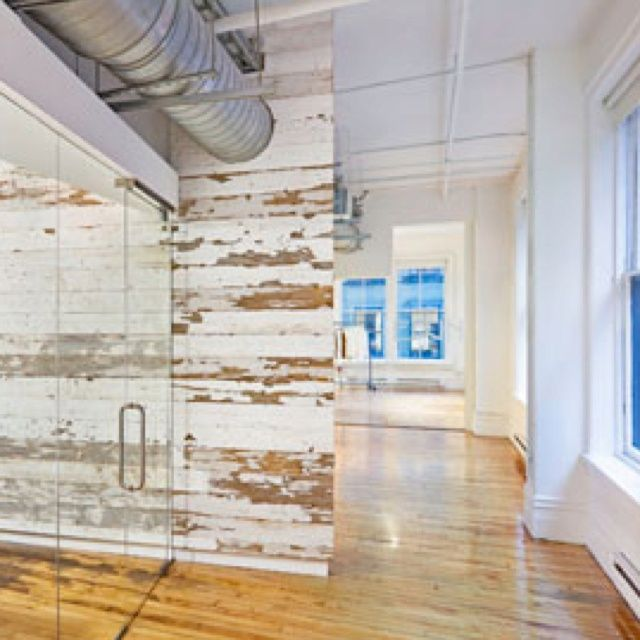 15 best images about farm house on pinterest rustic wood diy wall and 2 story foyer - Cool wall treatments ...