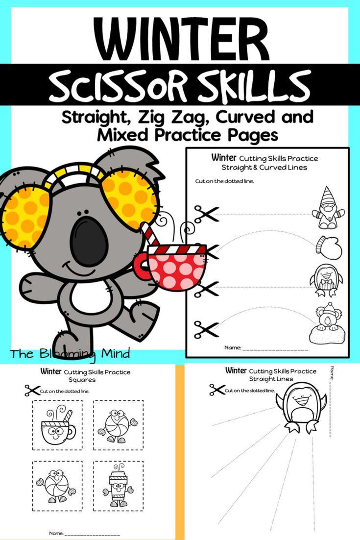 Best 25+ Cutting practice sheets ideas on Pinterest | Preschool ...