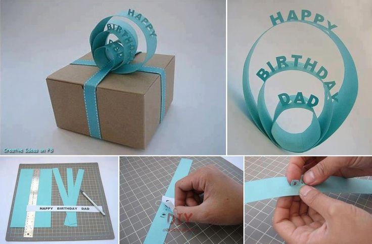 Creative Bday Present Design <3