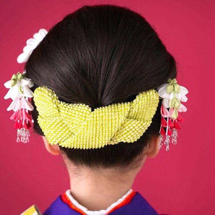 藤娘かんざし★あす楽★【七五三2016】【三歳・七歳】七五三髪飾りかんざし日本髪つまみ細工