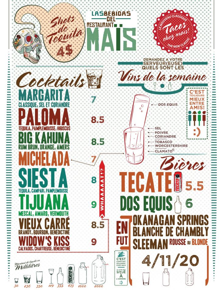 Great drinks menu design gd designs pinterest