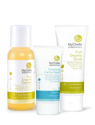 MyChelle Dermaceuticals At-Home Facial, All/Combination Skin #mychelle #skincare #glutenfree