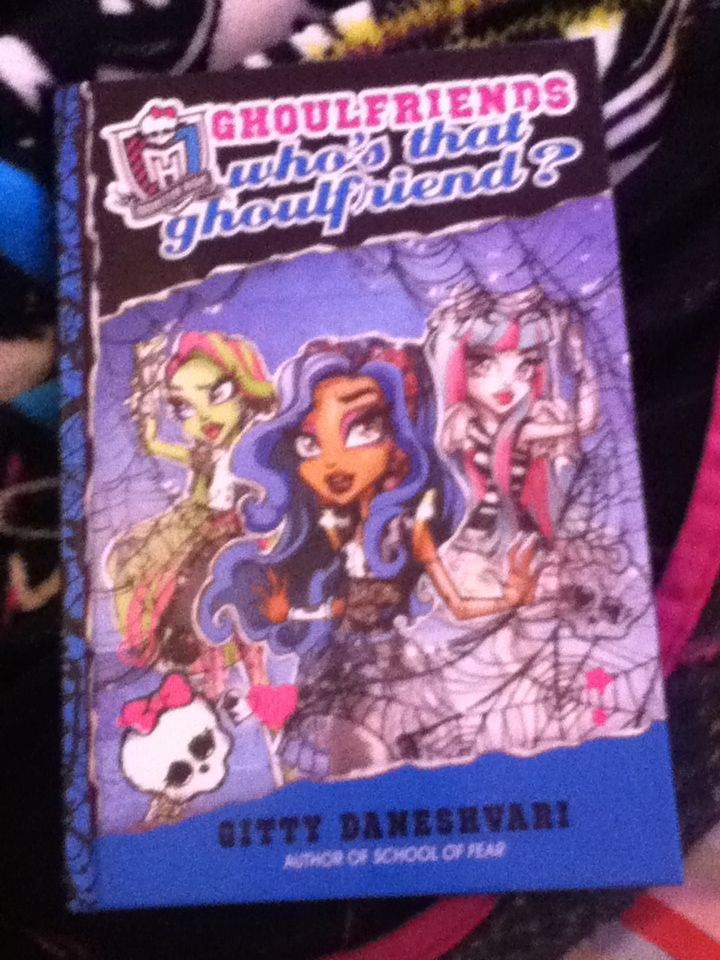 monster high ghoulfriends forever book report