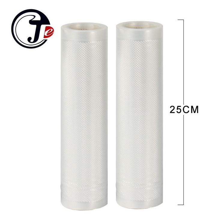 2 roll 25*500CM sealing machine packages bags for vacuum packaging machine grain bag for Wrappers vacuum food sealer machine