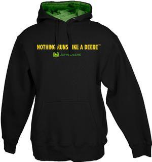 Nothing Runs Like a Deere John Deere Fleece Sweatshirt and more caps