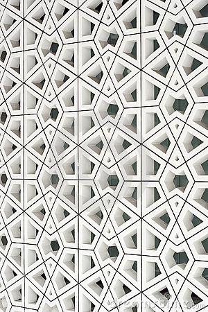 modern interpretation of an ancient Islamic pattern.