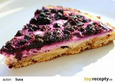 Tvarohový koláč s borůvkami recept - TopRecepty.cz