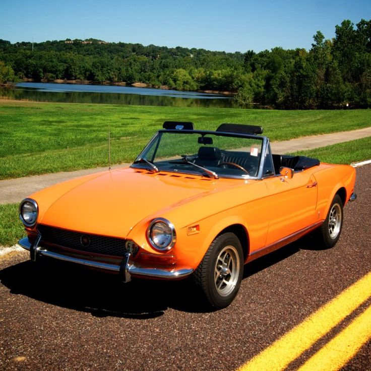 Fiat 124 Spider Convertible: 141 Best Images About Fiat 124 Spider On Pinterest