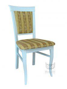 Krzesło Retro orginalna tkanina.