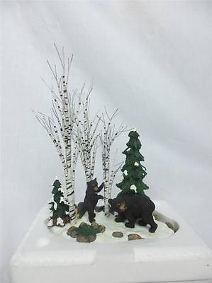 52 best dept 56 snow village images on pinterest christmas dept 56 52743 bears in the birch snow village mint in box realistic trees bears publicscrutiny Image collections