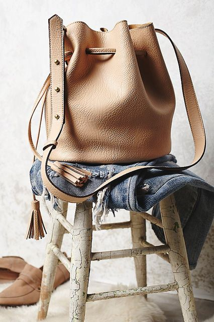 What To Buy At Free People For $100 Or Less #refinery29  http://www.refinery29.com/free-people-for-100-dollars#slide-16  Bucket bag fever is still going strong — get your slice of the trend.