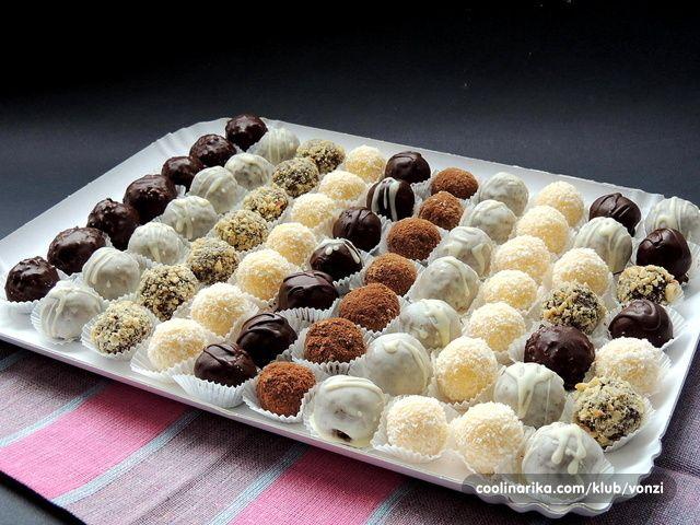 Neodoljivo podsjećaju na raffaelo Sastojci 250 ml slatkog vrhnja ili vrhnja za slag 100 g bijele čokolade 1 vanil sećer 1 puding od...