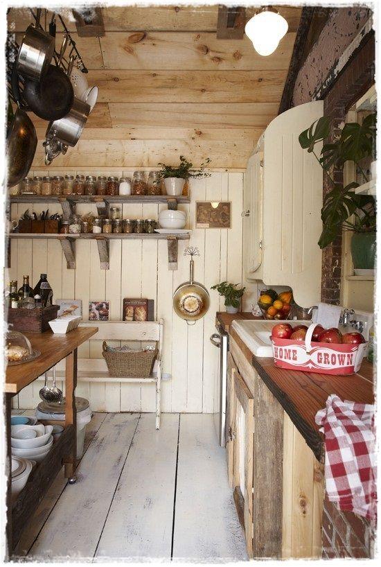 cocinas rusticas vintage