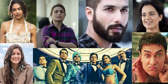 Quite contrarily to last year in which eight movies made it to the 100 crore club and three of them crossed 200 crore, For Bollywood 2014 was quite a dull..