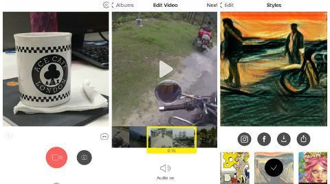 Prisma rolls out video filters with latest iOS update - The Indian Express