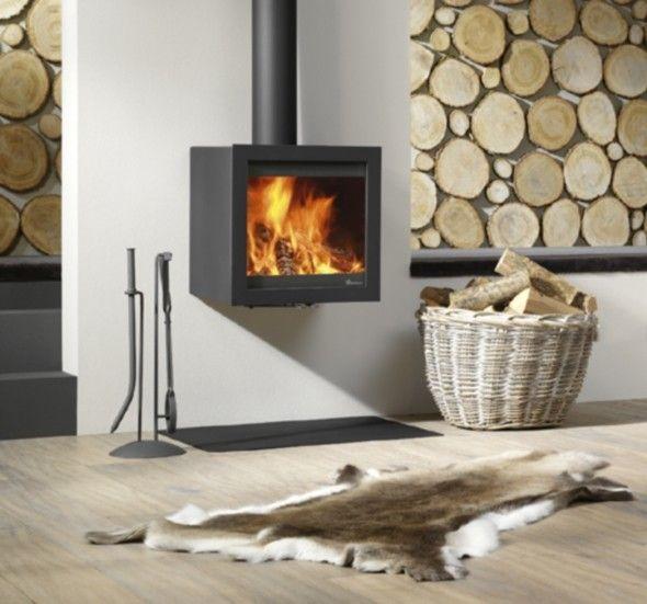 Dik Geurts Bora Fixed #Fireplace #Fireplaces #Interieur #Kachelplaats