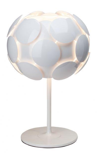 STATUS Brilliant - stolová lampa biela - ø 310mm