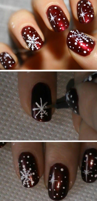 Nail art design gallery christmas dunk  #christmas #design #gallery