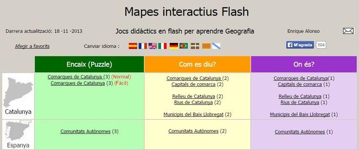 Ciències Socials: Mapes interactius (CM i CS)