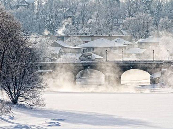 Winter in St. Marys, Ontario