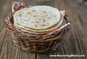 Comidas nutritivas: Cómo hacer Arroz Integral Tortillas de Harina (sin gluten, vegan)