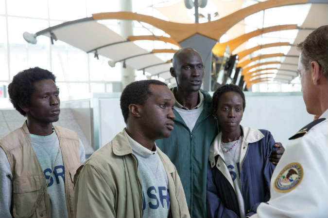 The Sudanese Refugees in The Good Lie. From The Good Lie Review – A Touching Drama About the Lost Boys of the Sudan