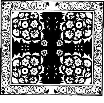 Индийский орнамент NS