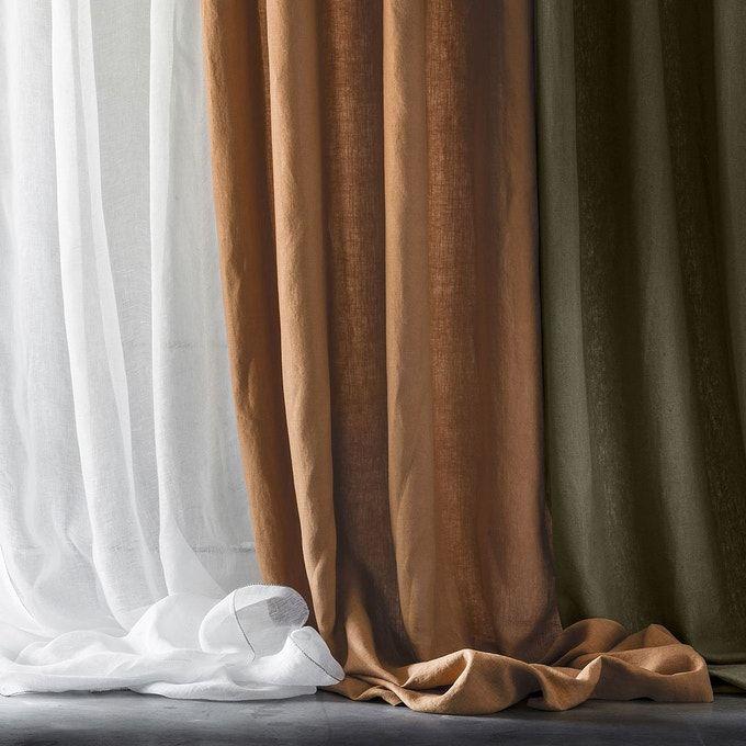 rideau lin lave rideaux lin