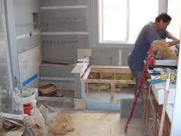 Image result for bathroom construction