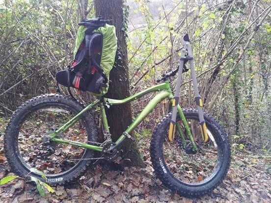 Fat bike in ippovia