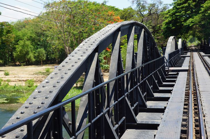 Bridge Over River Kwai, This spot is a part of our Discover ANZAC Tour 2015