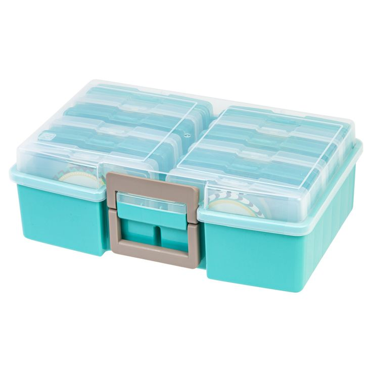 Iris Photo Storage Case - Baby's First Year, Green