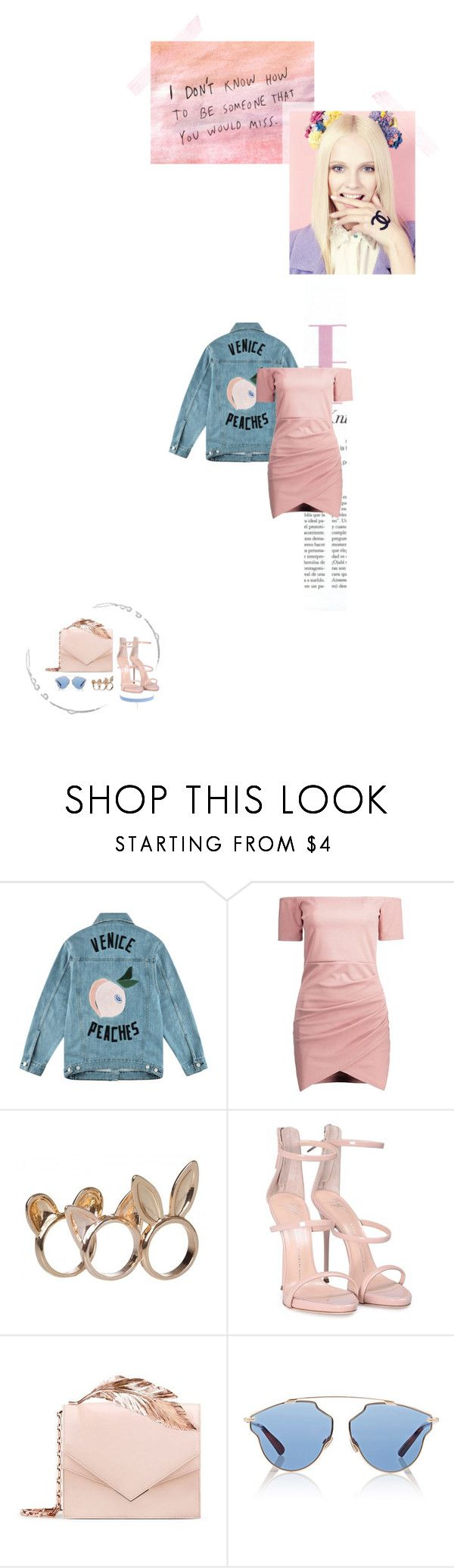 """""""I'm more than just a picture"""" by flowy ❤ liked on Polyvore featuring Être Cécile, Giuseppe Zanotti, RALPH & RUSSO, Christian Dior and Jules Smith"""