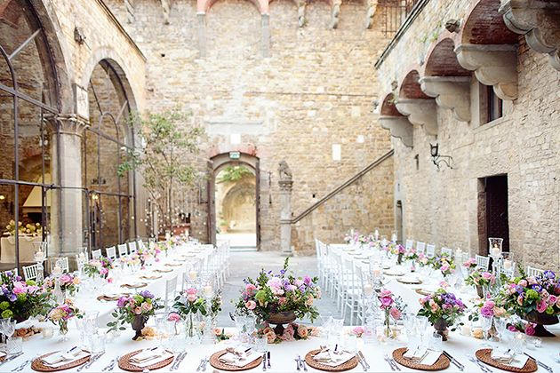 A Romantic Destination Wedding in Florence, Italy