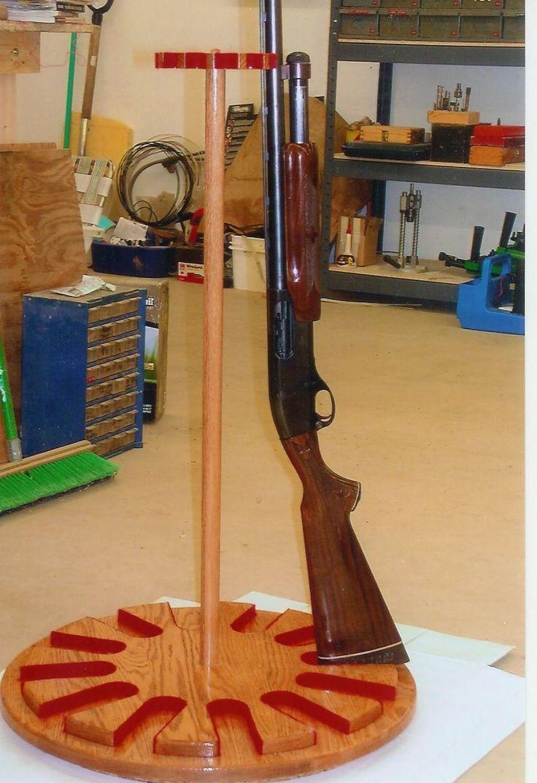 Custom Made Gun Rack Lazy Susan Home Ideas Gun