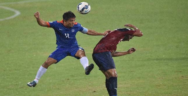 INDIA FINALLY TASTE VICTORY, BEAT GUAM IN FIFA WC QUALIFIERS.... See More http://goo.gl/54UYia