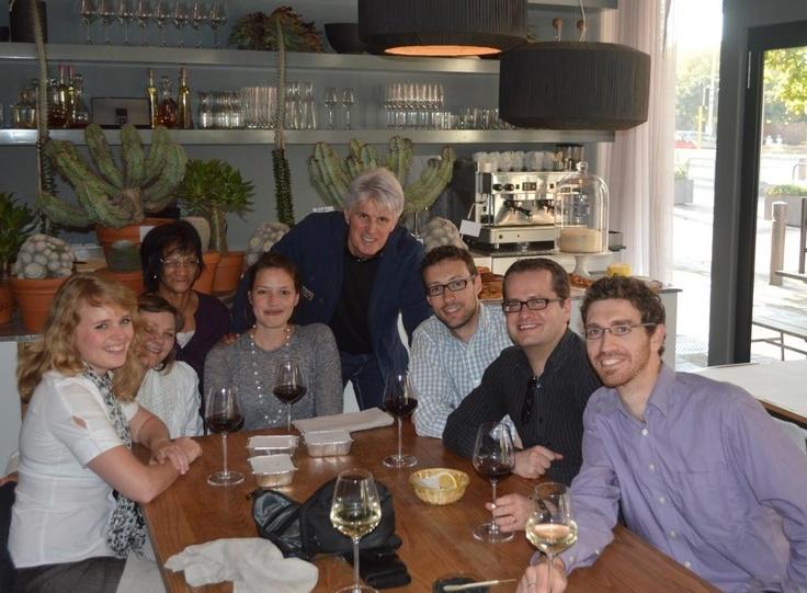 The Folio Team celebrated Johan's birthday at Hemelhuijs Restaurant, Cape Town, 21.05.2013. www.folio-online.co.za