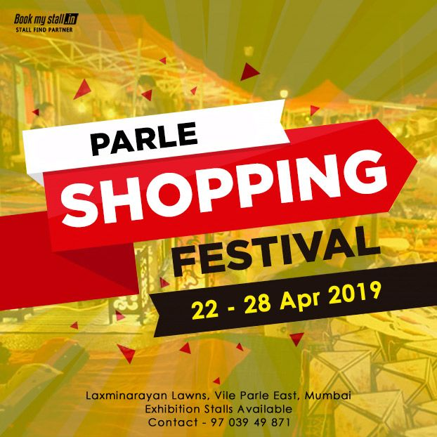 Exhibition Stall Booking In Pune : Parle shopping festival mumbai pune exhibitions flea markets