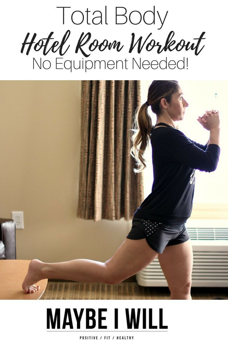 This+total+body+hotel+room+workout+is+a+great+way+to+get+in+a+workout+while+traveling!+With+no+equipment,+this+workout+can+be+done+ANYWHERE!++via+@andiethueson