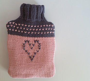 Diy la housse de bouillotte girly en tricot allmad e for Housse bouillotte