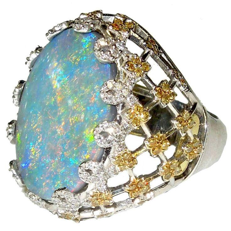 nike free run 2 mens australian opal ring with diamonds