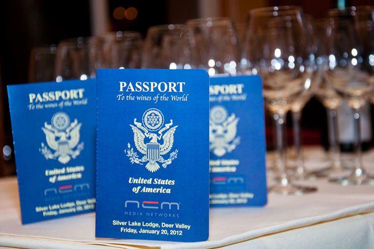 Around The World Wine Passport