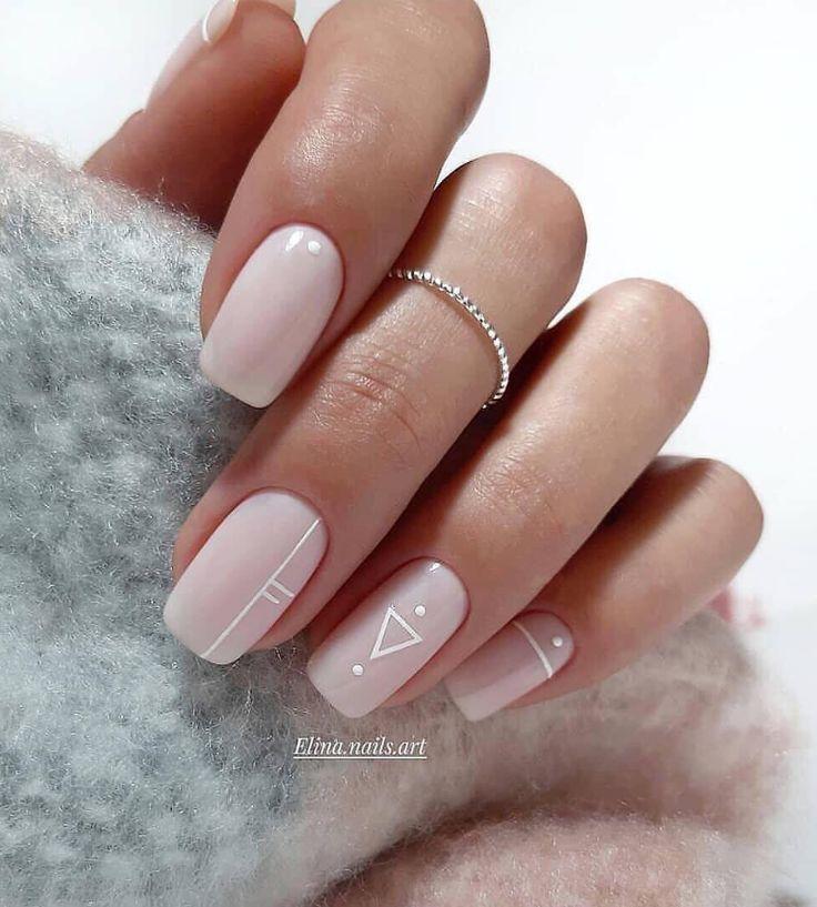 100 Trendy Atemberaubende Maniküre Ideen für kurze Acrylnägel Design – Seite 33 von 101 – Kosmetik – Acrylic nails