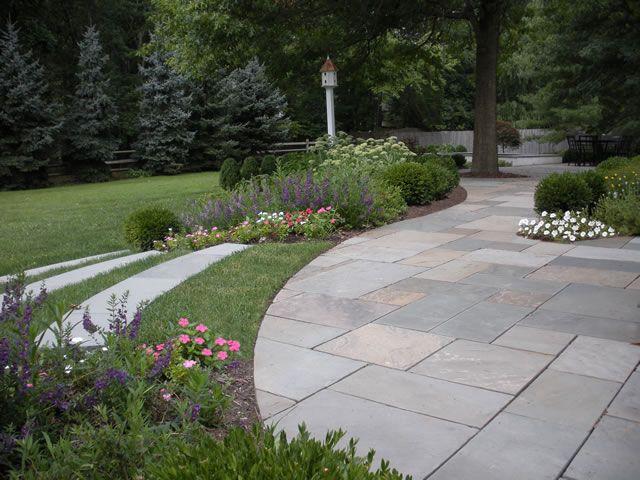Leydon Landscaping Inc In Buckingham Pennsylvania  Love The Curved Stone  Steps