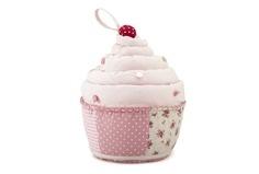 Pink Cupcake Fabric Doorstop