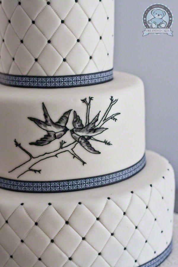 132 best bird themed wedding ideas images on pinterest themed a very plain but fancy lovebird cake junglespirit Choice Image