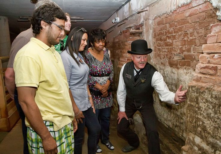 """Old Town Sacramento has an underground night tour at 6:00pm that takes you through the Sacramento Catacombs with a """"shady gold rush character."""" You explore the history of casinos and saloons. 21 and up. Totally on my bucket list!    Underground After Hours 