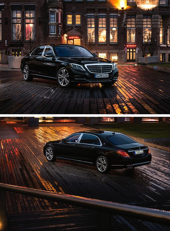 Luxury and comfort: The Mercedes-Maybach S 500 photographed in Rotterdam by Gijs Spierings. #mbsocialcar [Mercedes-Maybach S 500 | combined fuel consumption 8.9 l/100km | combined CO2 emission 207 g/km | http://mb4.me/efficiency_statement]