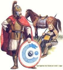 ARTICULO 3 - 30 - Según la concepción de Teodorico, los godos eran los protectores armados de los apacibles romanos; el rey godo cargaba con la difícil tarea de gobernar, mientras que el cónsul romano recibía los honores por ello.